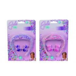 Perlová čelenka s prísl. pre dievčatká, 2 druhy