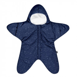 Baby Bites fusak STAR Winter Navy Blue