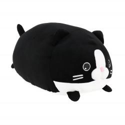 Plyšový polštář černá kočka