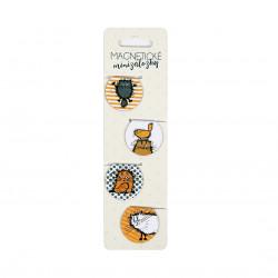 Magnetické minizáložky - Chlpaté mačky