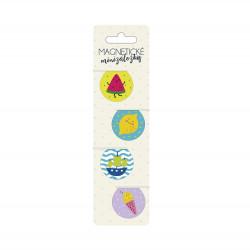 Magnetické minizáložky - Ovocie