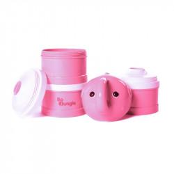 Bo Jungle dávkovač sušeného mlieka B-Dose Elephant Pink