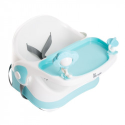 Bo Jungle prenosná stolička B-Booster Seat Blue