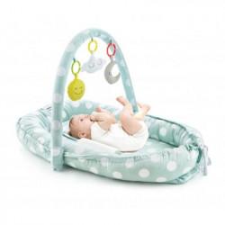 BabyJem hniezdočko Between Parents Baby Bed Green