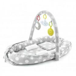 BabyJem hniezdočko Between Parents Baby Bed Grey