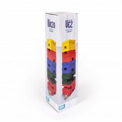 Veľká farebná Veža s kockou