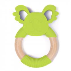 Bo Jungle hryzátko B-TEETHER ANIMAL WOOD Green Koala