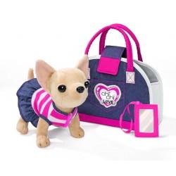 CCL psík čivava Denim Fashion v taške