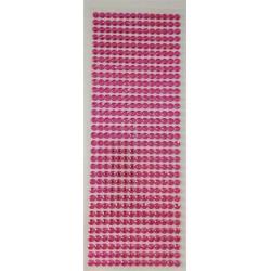 Ružové samolepiace kamienky
