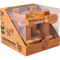 Bambusový hlavolam - Kocka
