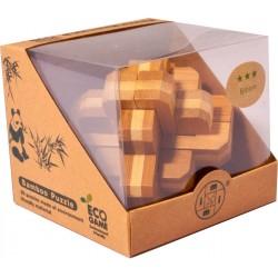 Bambusový hlavolam - Kríž