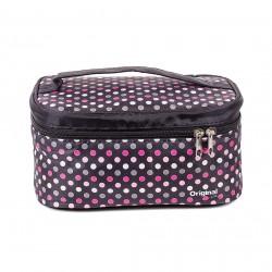 Kozmetická taška s bodkami