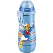 NUK FC Fľaša Sports Cup, Disney - Donald 450 ml, SI push-pull náustok