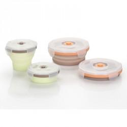 Babymoov silikonové misky SET 2x 240ml + 2x 400ml