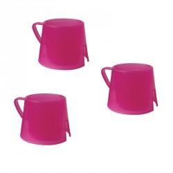 Steadyco hrneček Steadycup® 3pack Pink