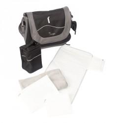 Bo Jungle přebalovací taška B-LEISURE Black