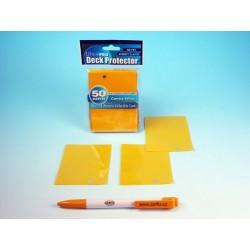Obaly na hrací karty - žlutá (SOLID CANARY YELLOW)