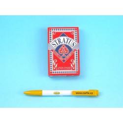 STRATUS BRIDGE - hrací karty 54 listů - AKCE