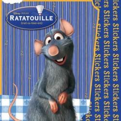 Omalovánky a samolepky - Ratatouille
