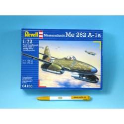 Plastic ModelKit letadlo 04166 - Messerschmitt Me 262 A-la (1:72)