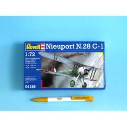 Plastic ModelKit letadlo 04189 - Nieuport N.28 C-1 (1:72)
