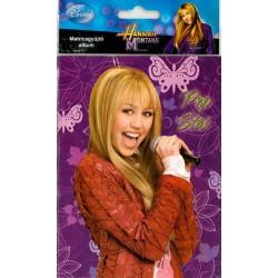 Nalep a odlep - Hannah Montana (prázdné - malé)