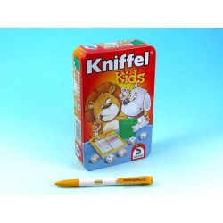Kniffel kids - hra v plechové krabičce
