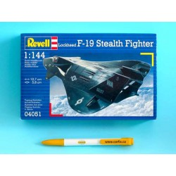 Plastic ModelKit letadlo 04051 - F-19 Stealth Fighter (1:144)