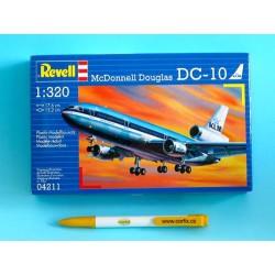 Plastic ModelKit letadlo 04211 - McDonell Douglas DC-10 'KLM' (1:320)