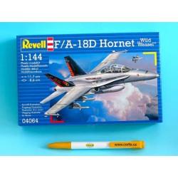 Plastic ModelKit letadlo 04064 - F/A-18D Wild Weasel (1:144)