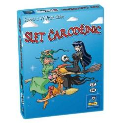 SLET ČARODĚJNIC - karetní hra