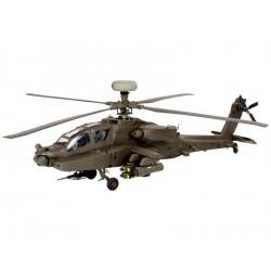 Plastic ModelKit vrtulník 04420 - Apache AH-64 D Brit. Army/US Army update (1:48)
