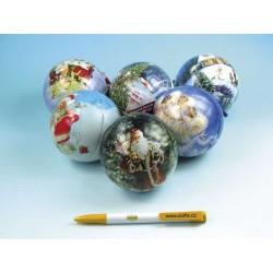 Vánoční koule s puzzle