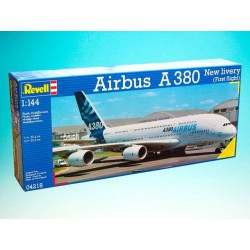 "Plastic ModelKit letadlo 04218 - Airbus A380 ""New Livery"" (1:144)"