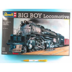 Plastic ModelKit lokomotiva 02165 - Big Boy Locomotive (1:87)
