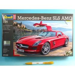 Plastic Modelkit auto 07100 - Mercedes SLS AMG (1:24)