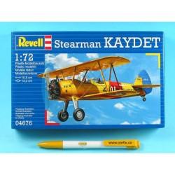 Plastic ModelKit letadlo 04676 - Stearman KAYDET (1:72)