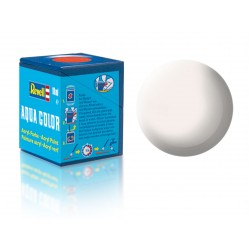 Barva Revell akrylová - 36105: matná bílá (white mat)
