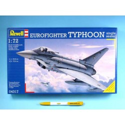 Plastic ModelKit letadlo 04317 - Eurofighter Typhoon single seater (1:72)