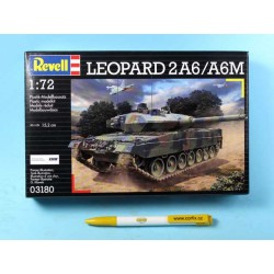 "Plastic ModelKit military 03180 - ""Leopard"" 2 A6M (1:72)"