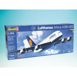 "Plastic ModelKit letadlo 04270 - 04270 Airbus A380 ""Lufthansa"" (1:144)"