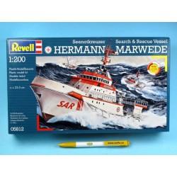 Plastic ModelKit loď 05812 - DGzRS Hermann Marwede (1:200)