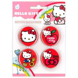 Placka set - Hello Kitty 4x38mm