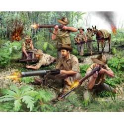 Plastové figurky 02529 - ANZAC Infantery WWII (1:76)