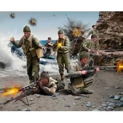 Plastové figurky 02530 - BRITISH COMMANDOS WWII (1:76)
