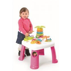 Cotoons Multifunkčný hrací stôl ružový