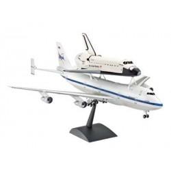 Plastic ModelKit letadlo 04863 - Boeing 747 SCA & Space Shuttle (1:144)