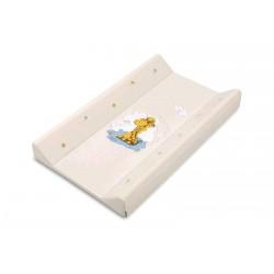 Podložka prebaľovacia DINO - tvrdá, béžová, 70 cm, 032