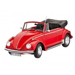 Plastic ModelKit auto 07078 - VW Käfer 1500 (Carbrio) (1:24)