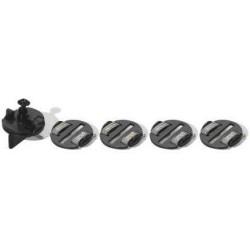 Náhradní díl autíčka SCALEXTRIC C8329 - Guide Blades x 4, Braid Plates x 4 & Screw Pack (komplet vodící sada)